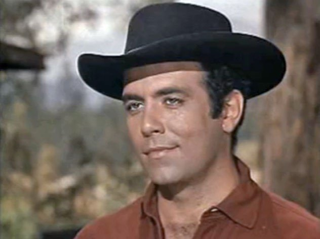 "Pernell Roberts from the television series Bonanza. Episode: ""Showdown"" (1960). 
