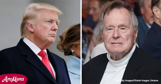 Trump was invited to Bush's funeral because he reportedly didn't want to 'stiff' a sitting POTUS