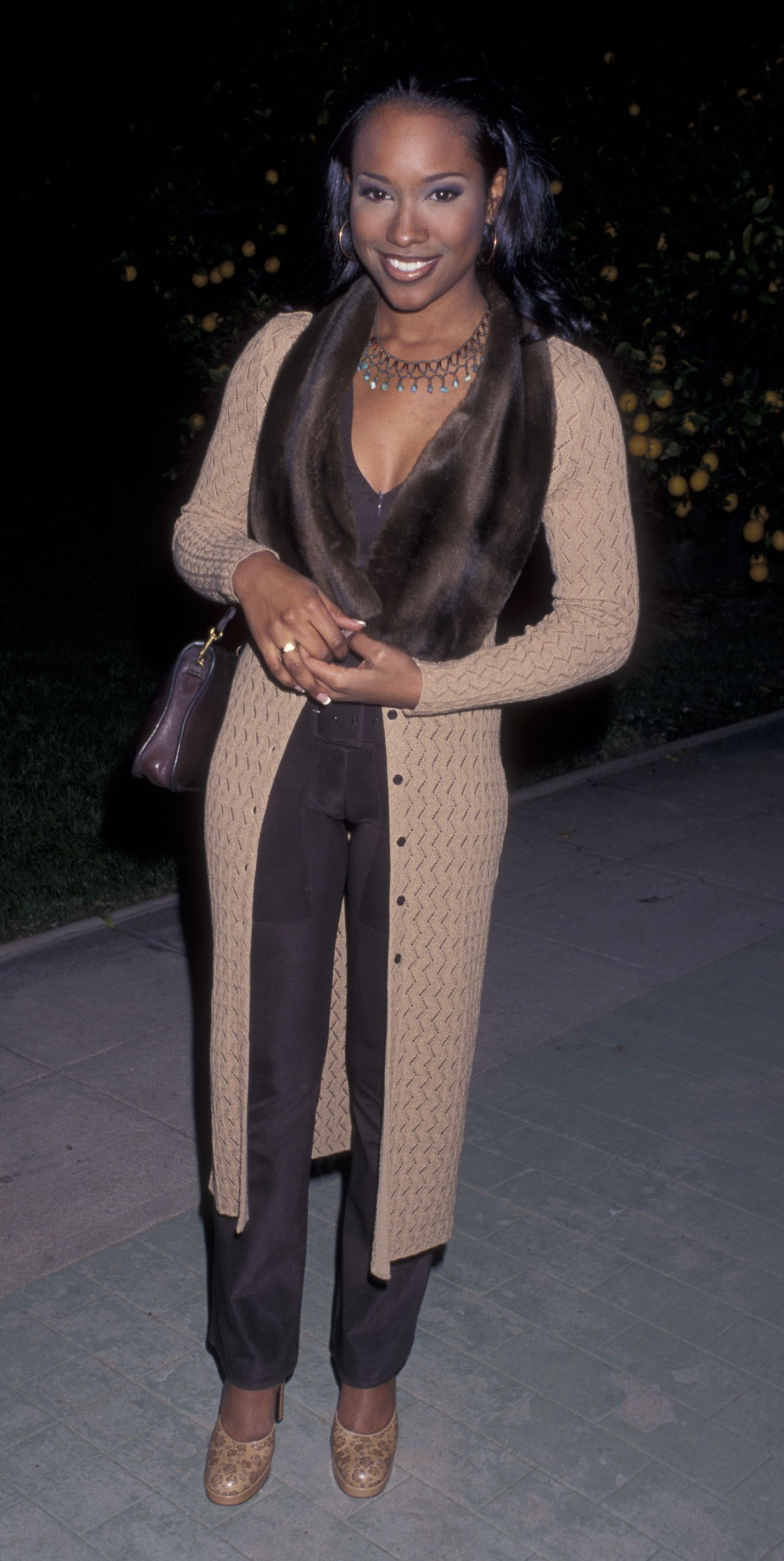 "Maia Campbell of ""In The House"" attends a Hollywood event 