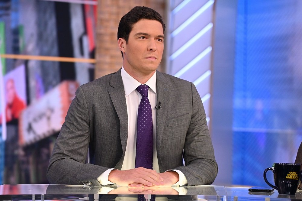 "Will Reeve presenting ABC ""Good Morning America"" in January 2020. 