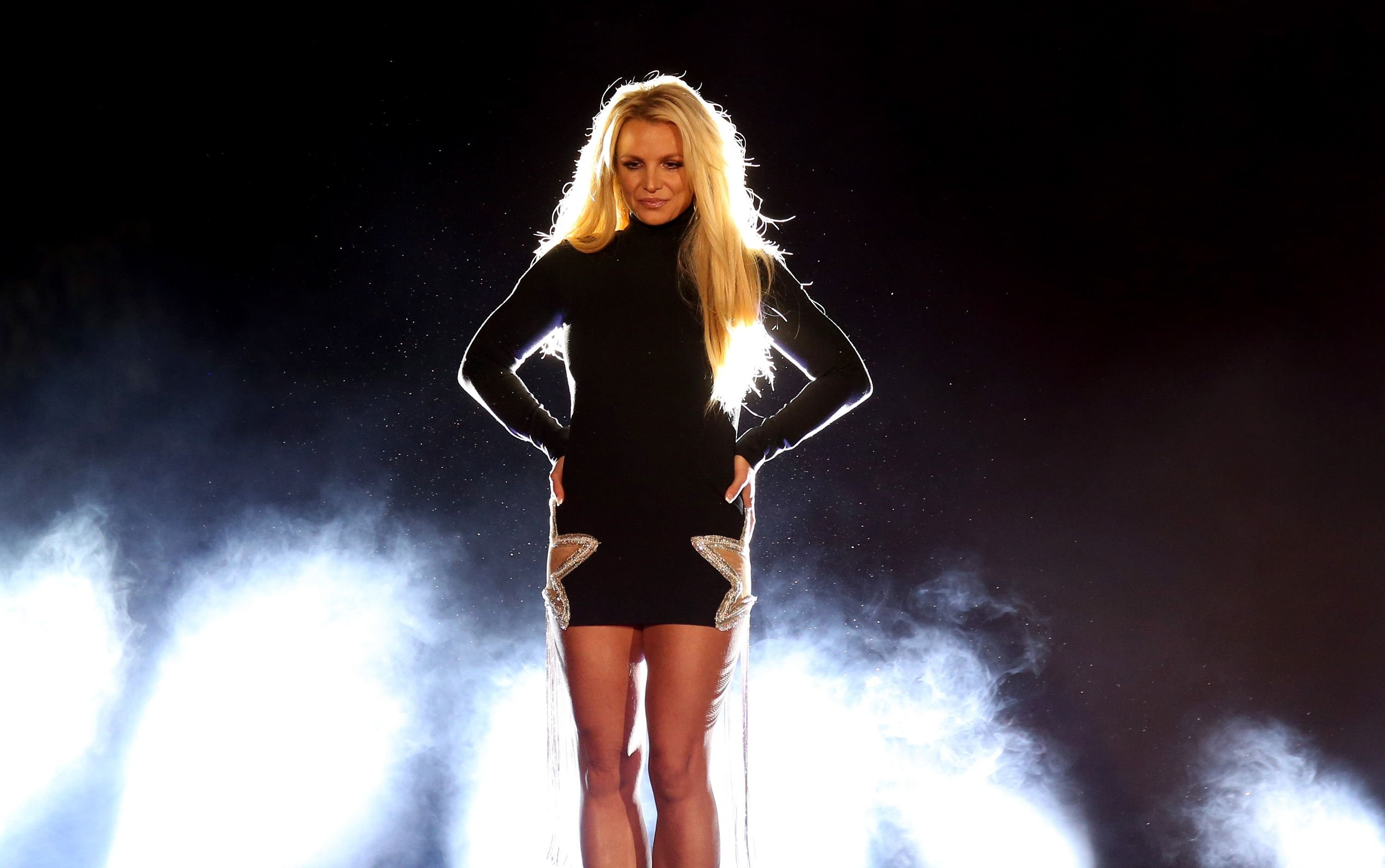 """Britney Spears at the announcement of her new residency, """"Britney: Domination"""" on October 18, 2018 in Las Vegas, Nevada   Photo: Getty Images"""