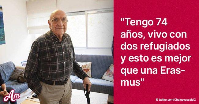 Un hombre de 74 años ayuda a dos refugiados y casi se convierte en su padre