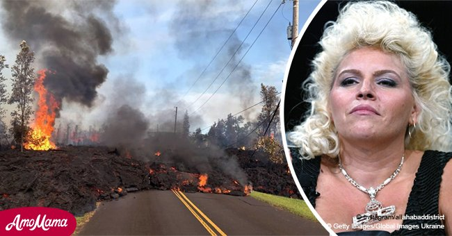 Major update from Beth Chapman after volcano erupts near her family's island in Hawaii