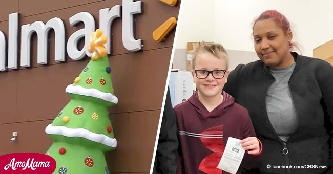 'Secret Santa' who paid off Walmart layaway for a customer was actually an 11-year-old boy
