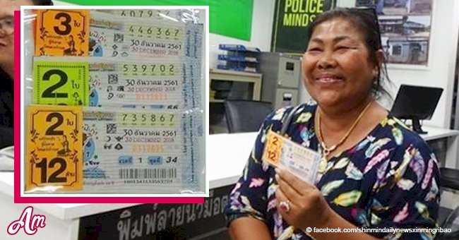 A kind-hearted woman donated part of her huge lottery prize, and a year later she won again