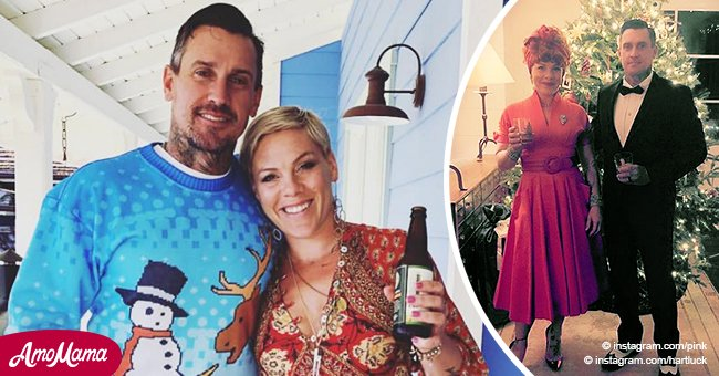 Huge 'I Love Lucy' tribute detected at Pink's holiday party