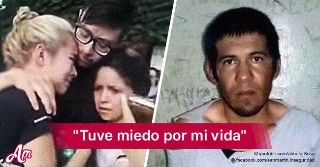 """""""No lo saquen más"""": Desgarrador pedido de víctima de un hombre que salió de la cárcel 1 mes antes"""