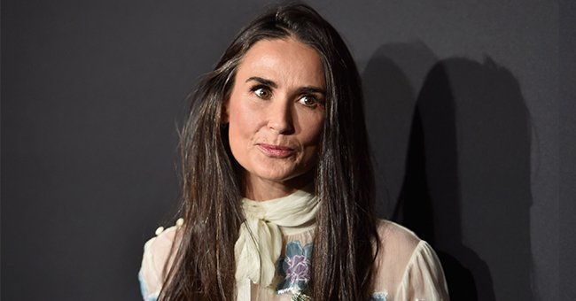 Demi Moore Stuns in Sultry Bodysuit and Fishnets for Rihanna's Savage X Fenty Show and Fans Love It