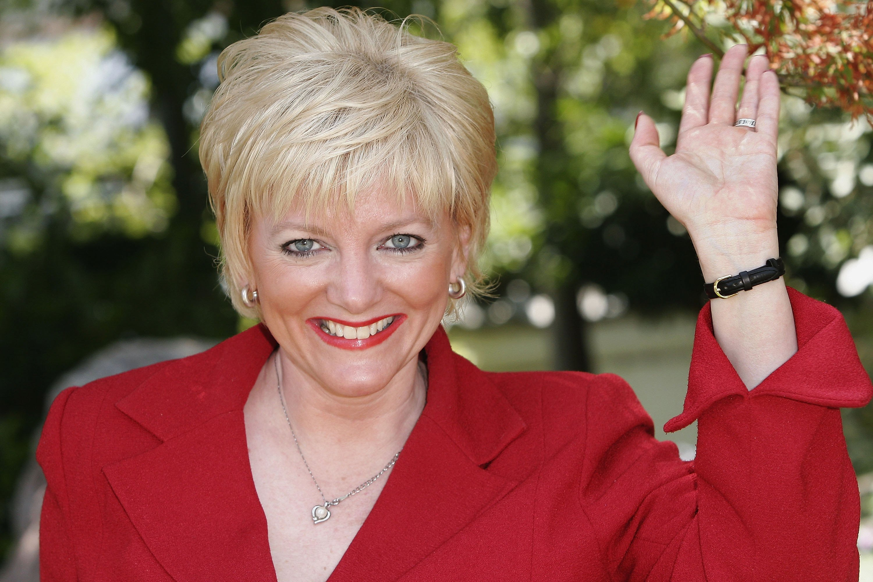 "Alison Arngrim poses at the photocall for ""Little house on the prairie"" during the 46th annual Monte Carlo Television Festival. Photo: Getty Images/GlobalImagesUkraine"