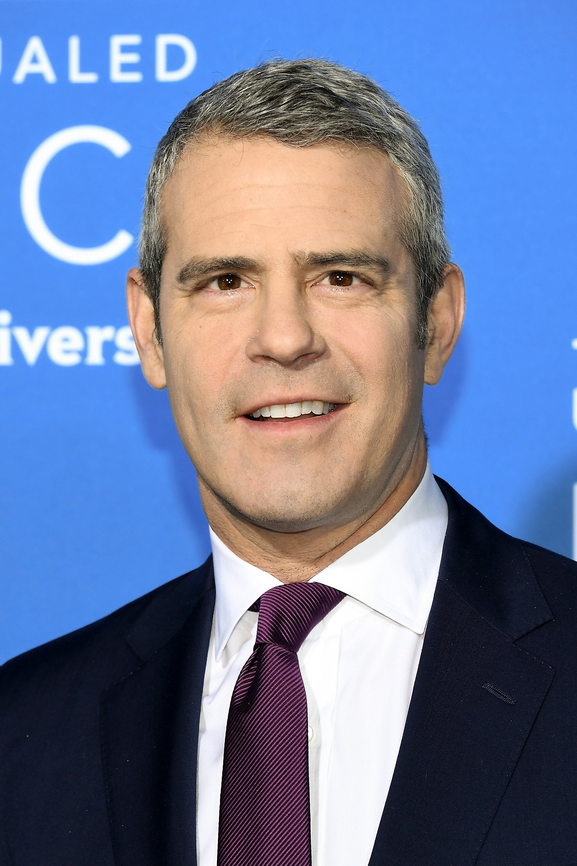 Andy Cohen pictured at the 2017 NBCUniversal Upfront at Radio City Music Hall, 2017, New York City. | Getty Images
