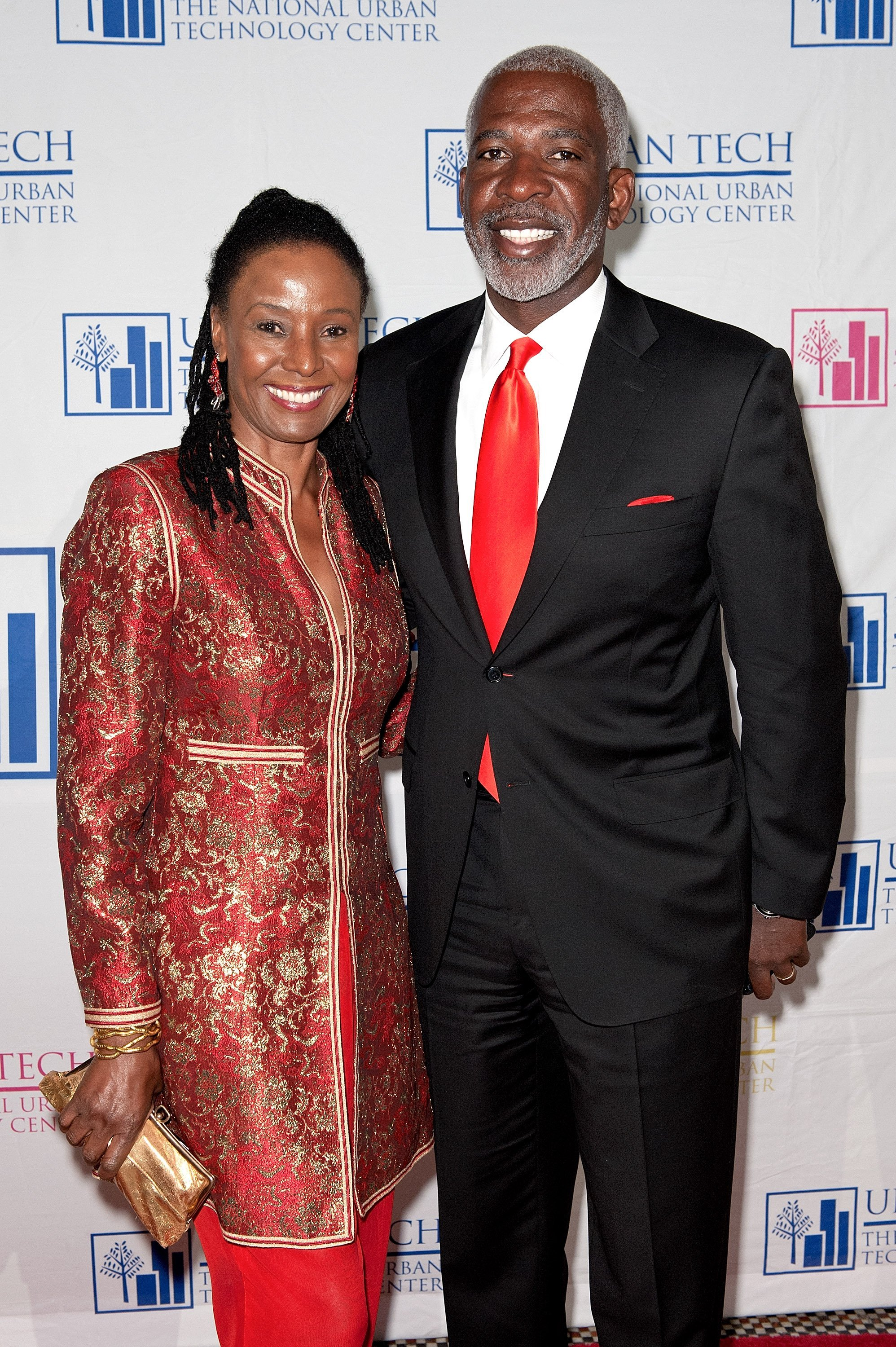 Lifestyle guru B. Smith and her husband Dan Gasby at the 17th Annual National Urban Technology Center Gala at Capitale in New York City | Photo: D Dipasupil/Getty Images