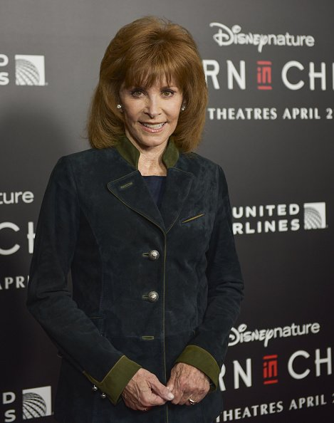 Stefanie Powers at Billy Wilder Theater on April 3, 2017 in Los Angeles, California | Photo: Getty Images