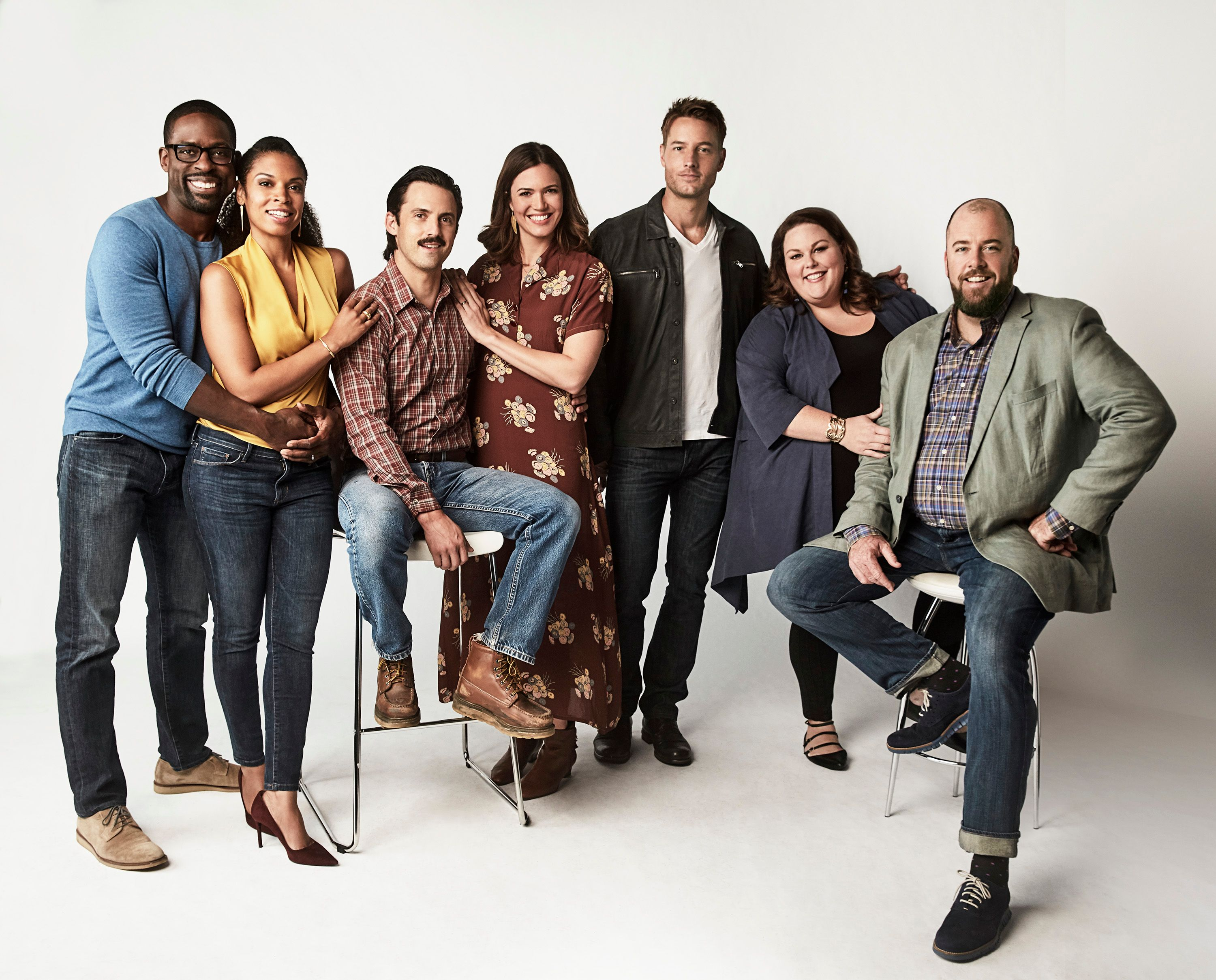 """Cast of """"This Is Us"""" Season 2   Photo: Getty Images"""