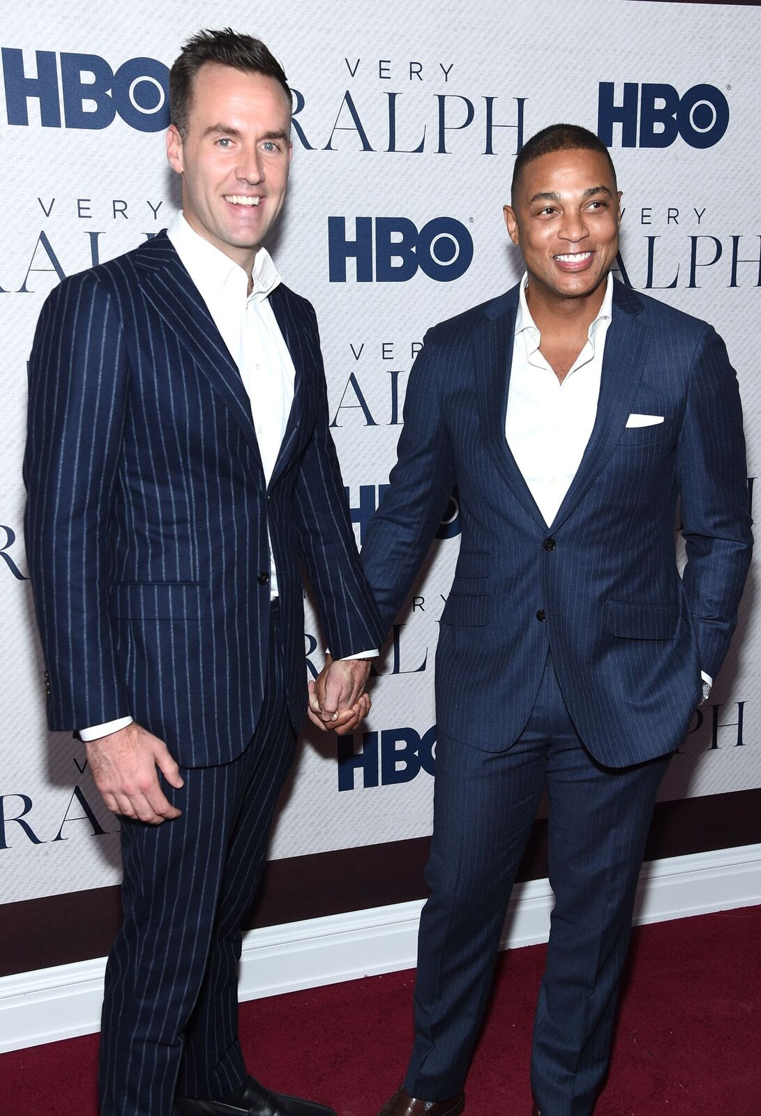 "Tim Malone and Don Lemon attend HBO's ""Very Ralph"" World Premiere at The Metropolitan Museum of Art on October 23, 2019 
