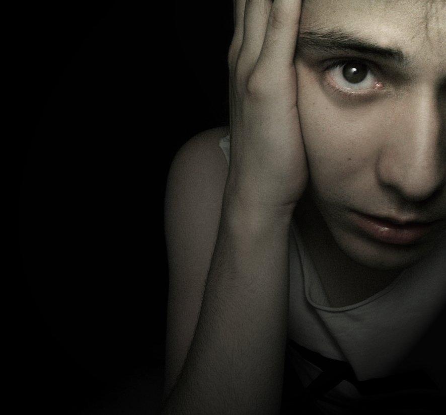 Trauriger Junge   Quelle: Flickr