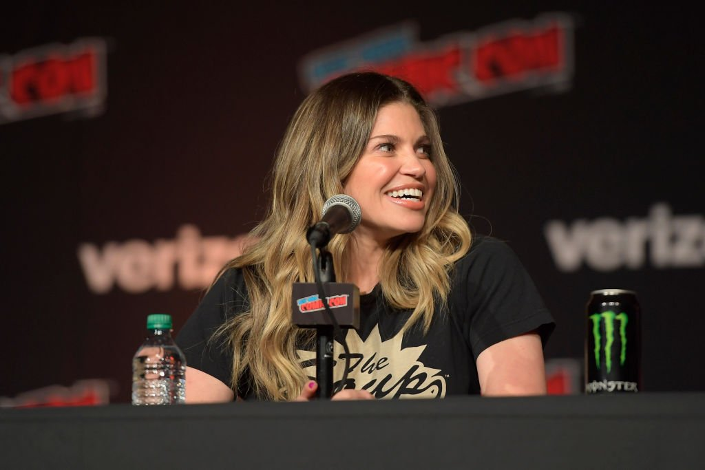 Danielle Fishel speaks onstage at the Boy Meets World 25th Anniversary Reunion Panel during the New York Comic Con 2018 at Javits Center | Photo: Getty Images