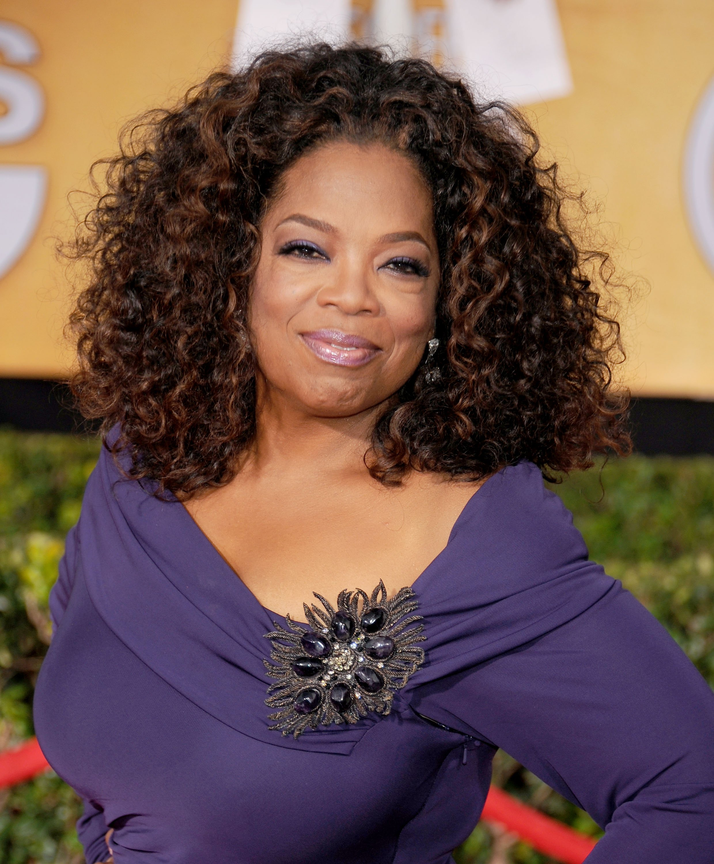 Oprah Winfrey arrives at the 20th Annual Screen Actors Guild Awards at The Shrine Auditorium on January 18, 2014 in Los Angeles, California.   Source: Getty Images