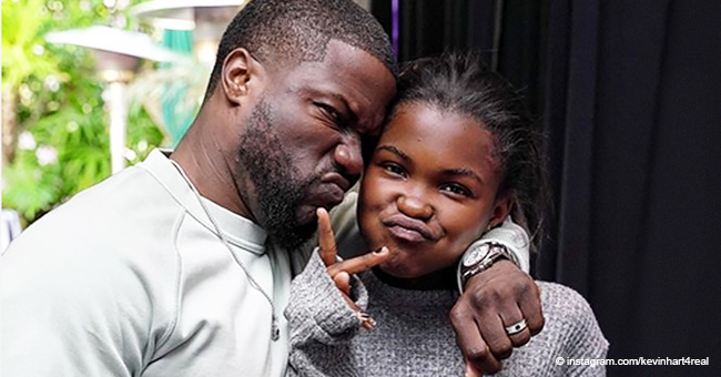 Kevin Hart Reunites with Ex-Wife Torrei to Celebrate Daughter's 14th Birthday