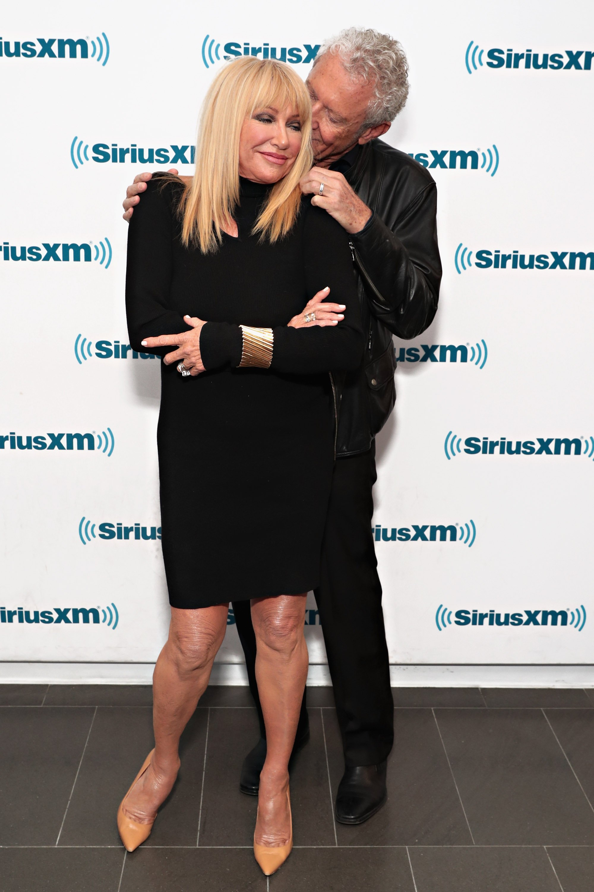 Suzanne Somers and Alan Hamel.   Source: Getty Images