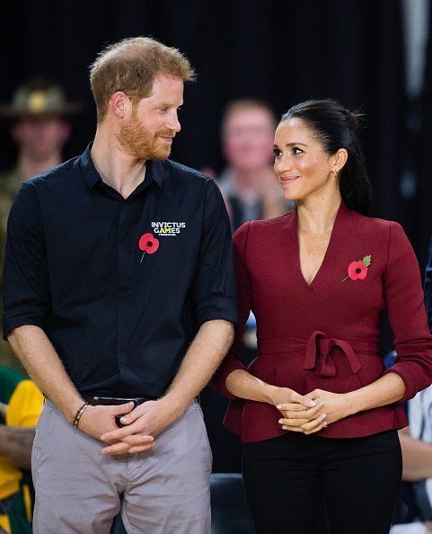 Prince Harry, Duke of Sussex and Meghan, Duchess of Sussex attend the Wheelchair Basketball final at the Invictus Games on October 27, 2018 in Sydney, Australia | Photo: Getty Images