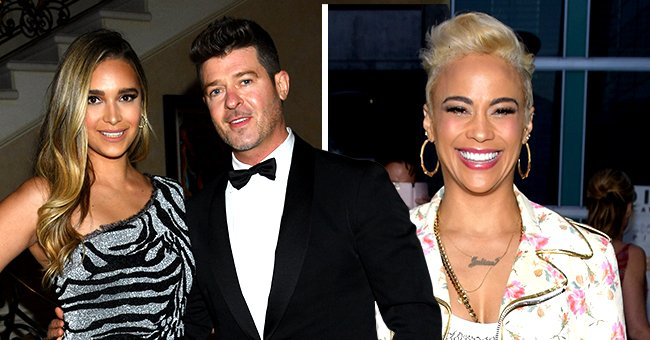 Robin Thicke Opens up About Doing Therapy With Fiancée April Love Geary & Ex-Wife Paula Patton
