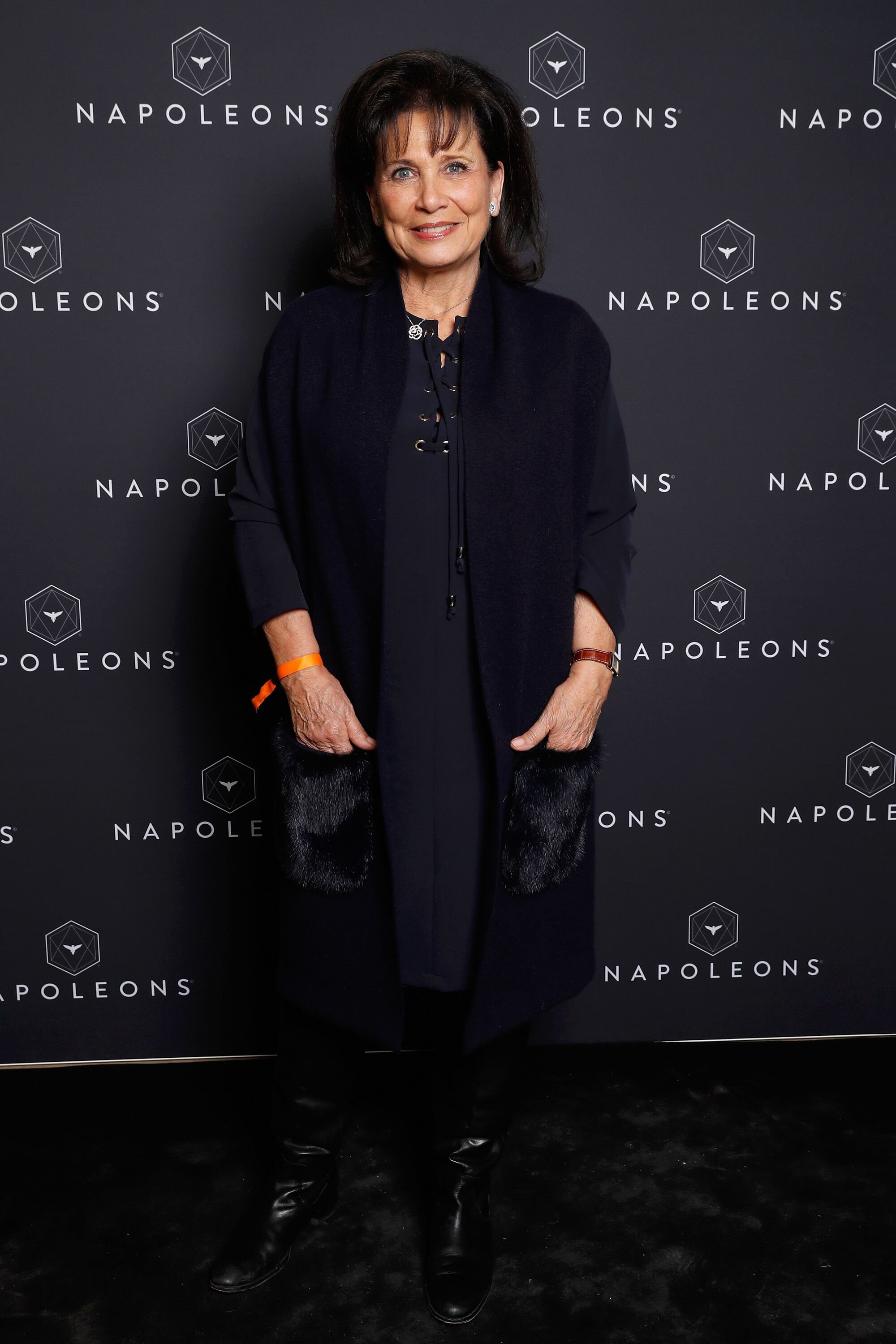 Anne Sinclair assiste à la séance d'introduction au 7e sommet des Napoléons à la Maison de la Radio le 2 décembre 2017 à Paris, France. | Photo : Getty Images