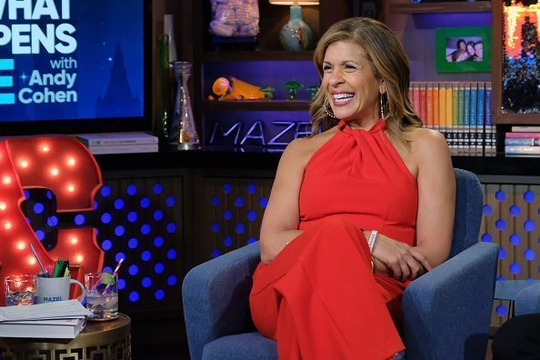 "Hoda Kotb during an appearance on ""Watch What Happens Live with Andy Cohen"" 
