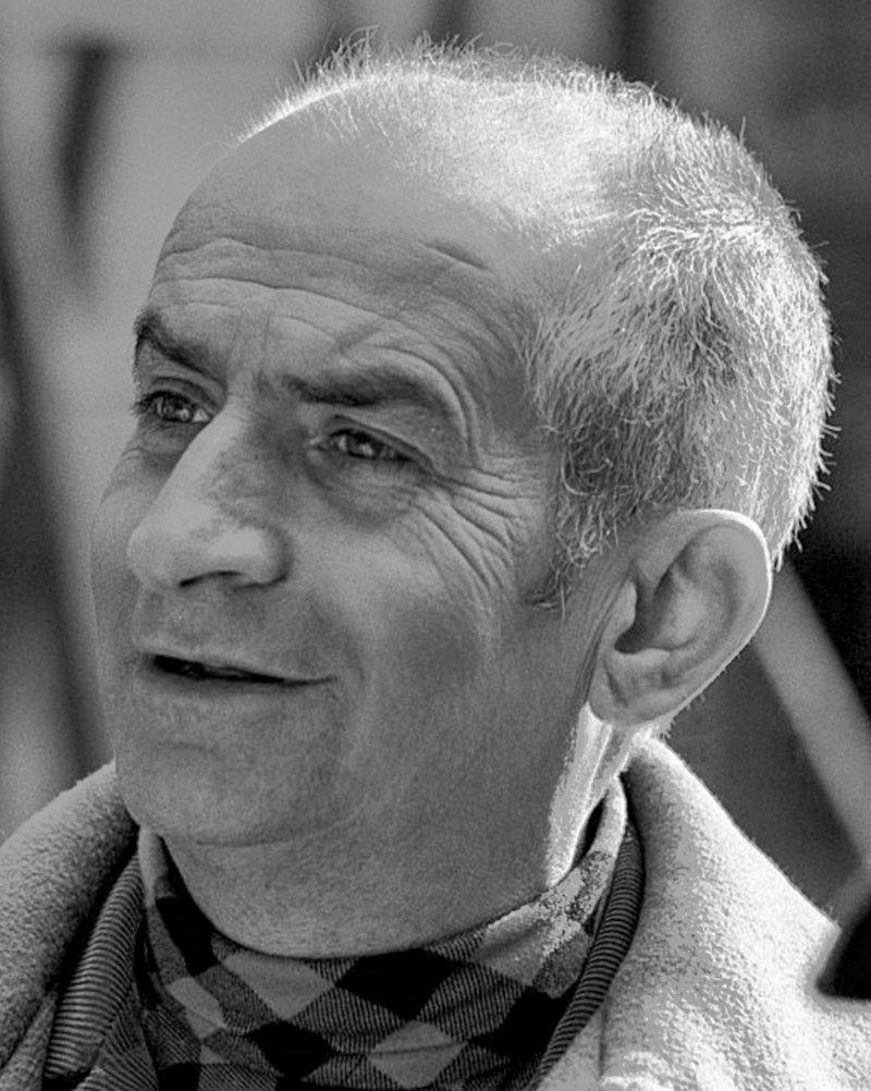 Le comédien Louis de Funès. l Source : Wikipedia