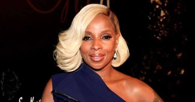 Inside Mary J Blige's Bold Look Featuring a Leopard-Print Top and Massive Jewelry (Photo)
