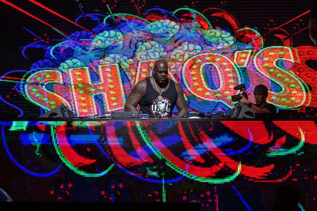 Shaquille O'Neal using the stage name DJ Diesel performed at Shaq's Fun House at Mana Wynwood Convention Center on January 31, 2020, in Miami, Florida   Source: Jason Koerner/Getty Images