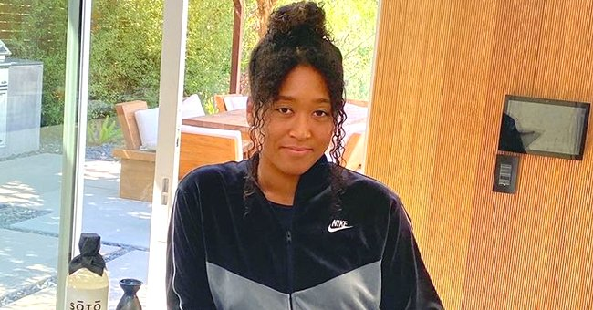 Naomi Osaka Looks Unrecognizable in a New Snap Sporting Long Pink Hair with Bright Eye Shadow