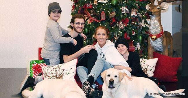 """""""On est comme trois amis"""" : Céline Dion a révélé qu'elle dort toujours avec ses jumeaux"""