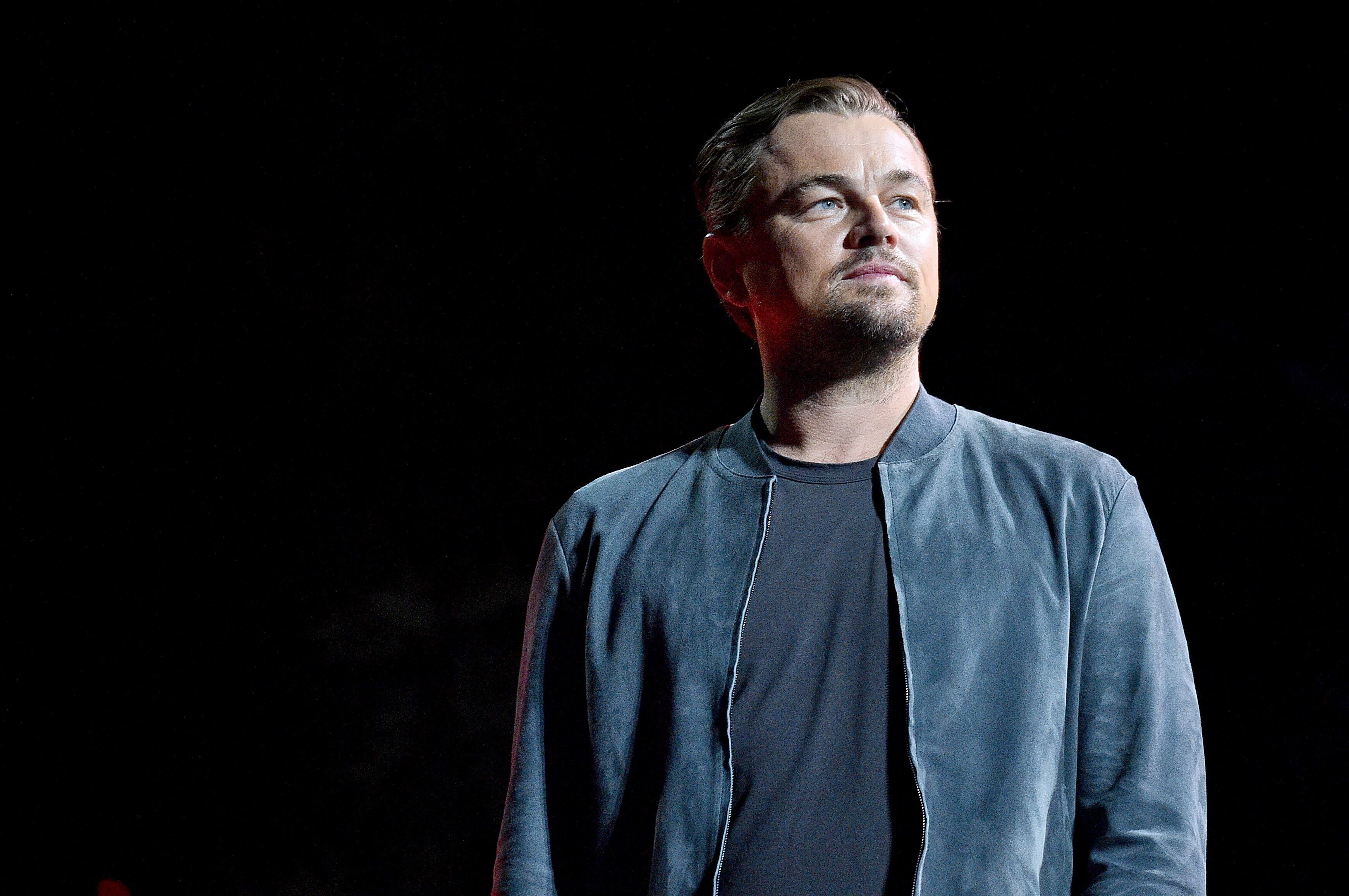 Leonardo DiCaprio speaks onstage during the 2019 Global Citizen Festival: Power The Movement. | Source: Getty Images