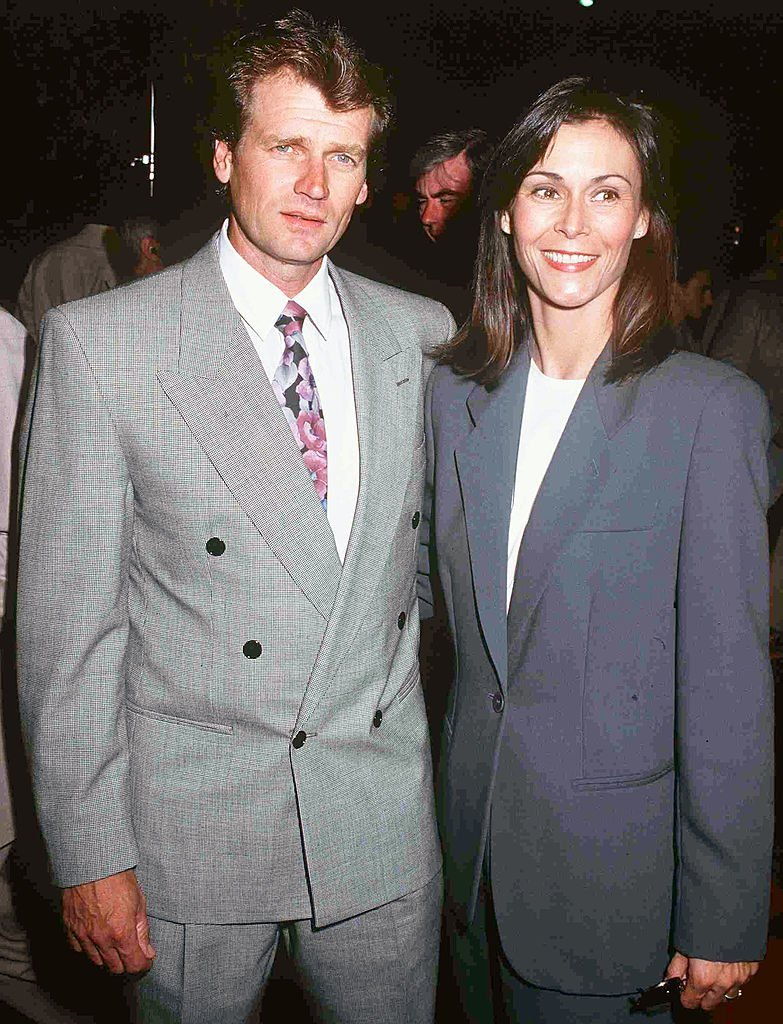 Kate Jackson with her husband Tom Hart, circa 1992 | Photo: GettyImages