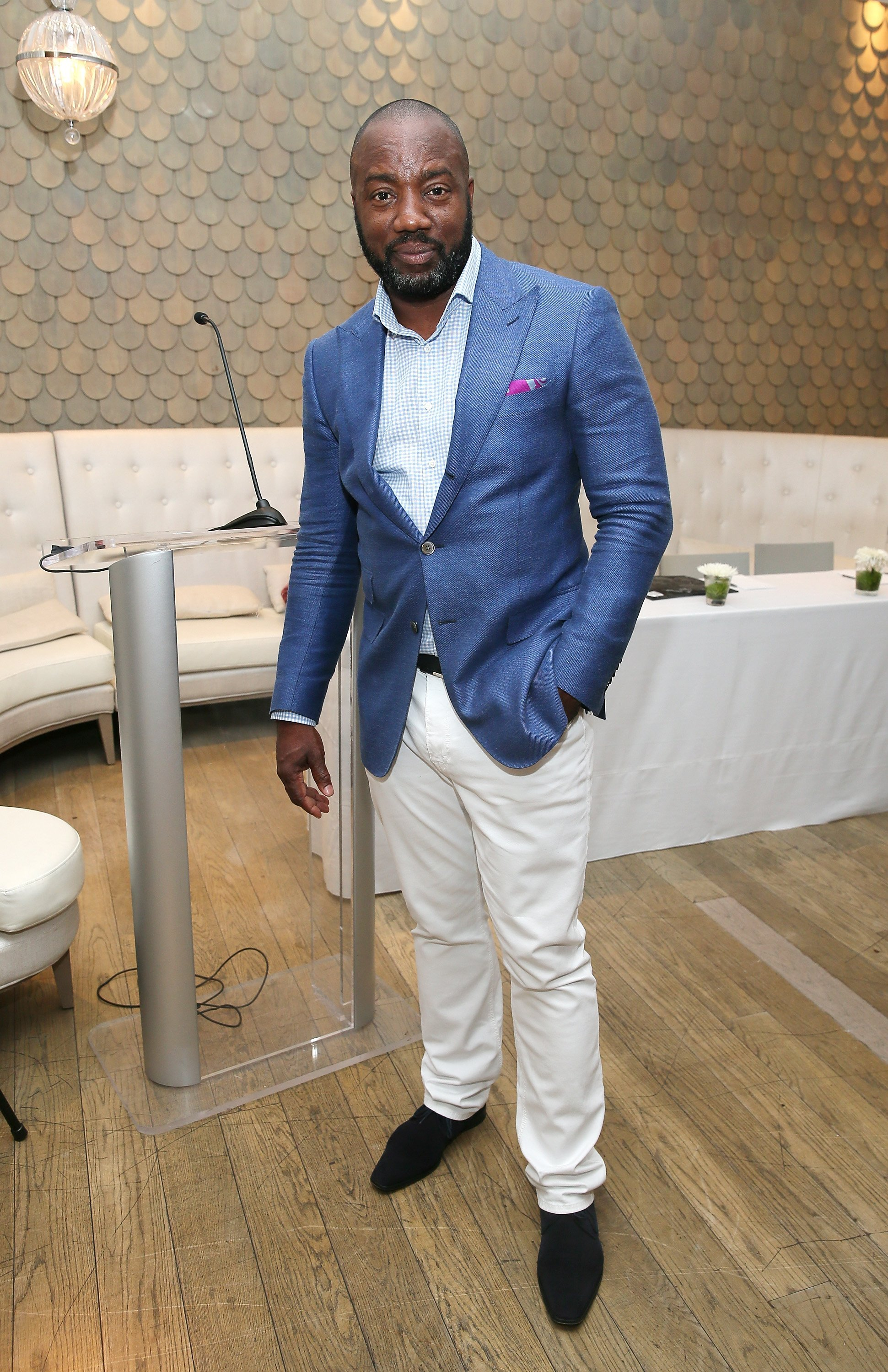 Malik Yoba at a press conference in New York in June 2015. | Photo: Getty Images