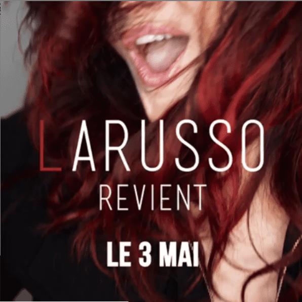 Annonce de la sortie du nouvel album de Larusso | Photo : Larusso/Instagram