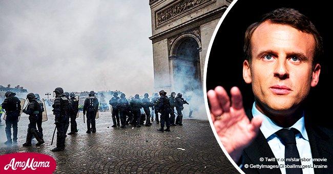 Macron: il y a eu 11 morts durant les manifestations des Gilets jaunes mais aucune d'entre elles à cause de la police