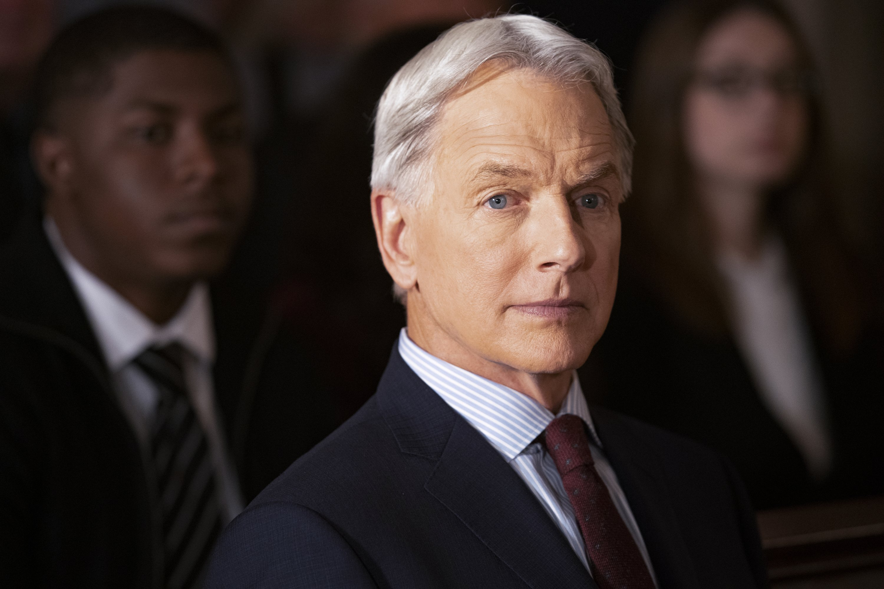 A snapshot of Mark Harmon from March 21, 2019 as NCIS Special Agent Leroy Jethro Gibbs. | Source: Getty Images
