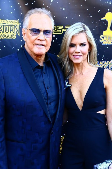 Lee Majors and Faith Majors attend the 43rd Annual Saturn Awards on June 28, 2017 in Burbank, California. | Photo:Getty Images