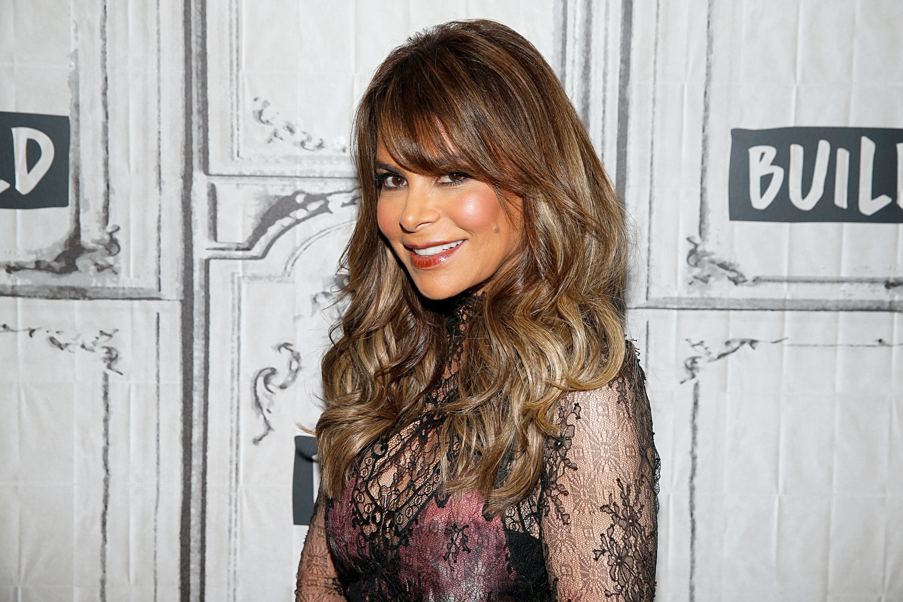 Paula Abdul attends a Build Series in New York City on October 3, 2019 | Photo: Getty Images