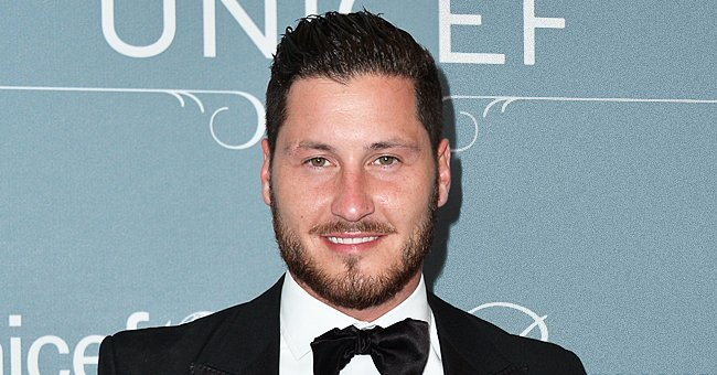 DWTS' Val Chmerkovskiy Shares Terrifying Throwback Photos of a Huge Python around His Body