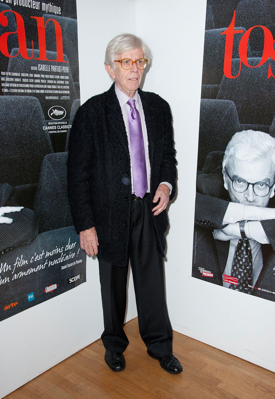 Henry Chapier à la première du documentaire 'Toscan' à Paris, France | Photo: Getty images