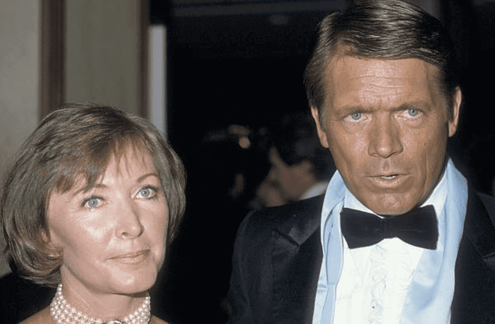 Shelby Grand and her husband, Chad Everett make an appearance at the 31st Annual Thalians Ball, on October 11, 1986, at the Century Plaza Hotel in Century City, California | Source: Ron Galella, Ltd./Ron Galella Collection via Getty Images