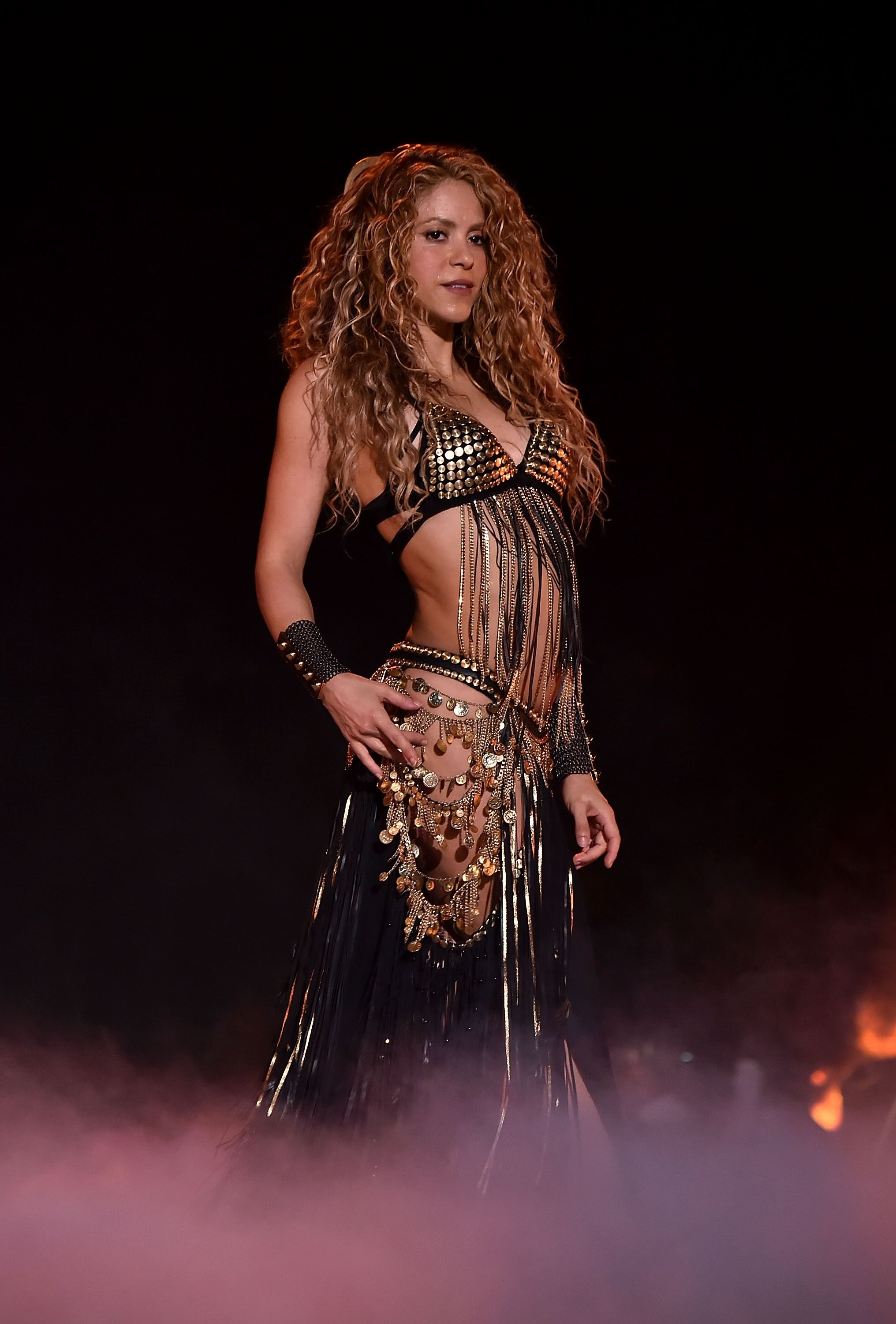 Shakira in concert/ Source: Getty Images