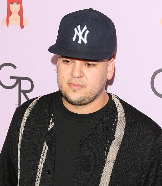 Rob Kardashian at Blac Chyna's birthday celebration and unveiling of her 'Chymoji' Emoji Collection on May 10, 2016 | Photo: Getty Images