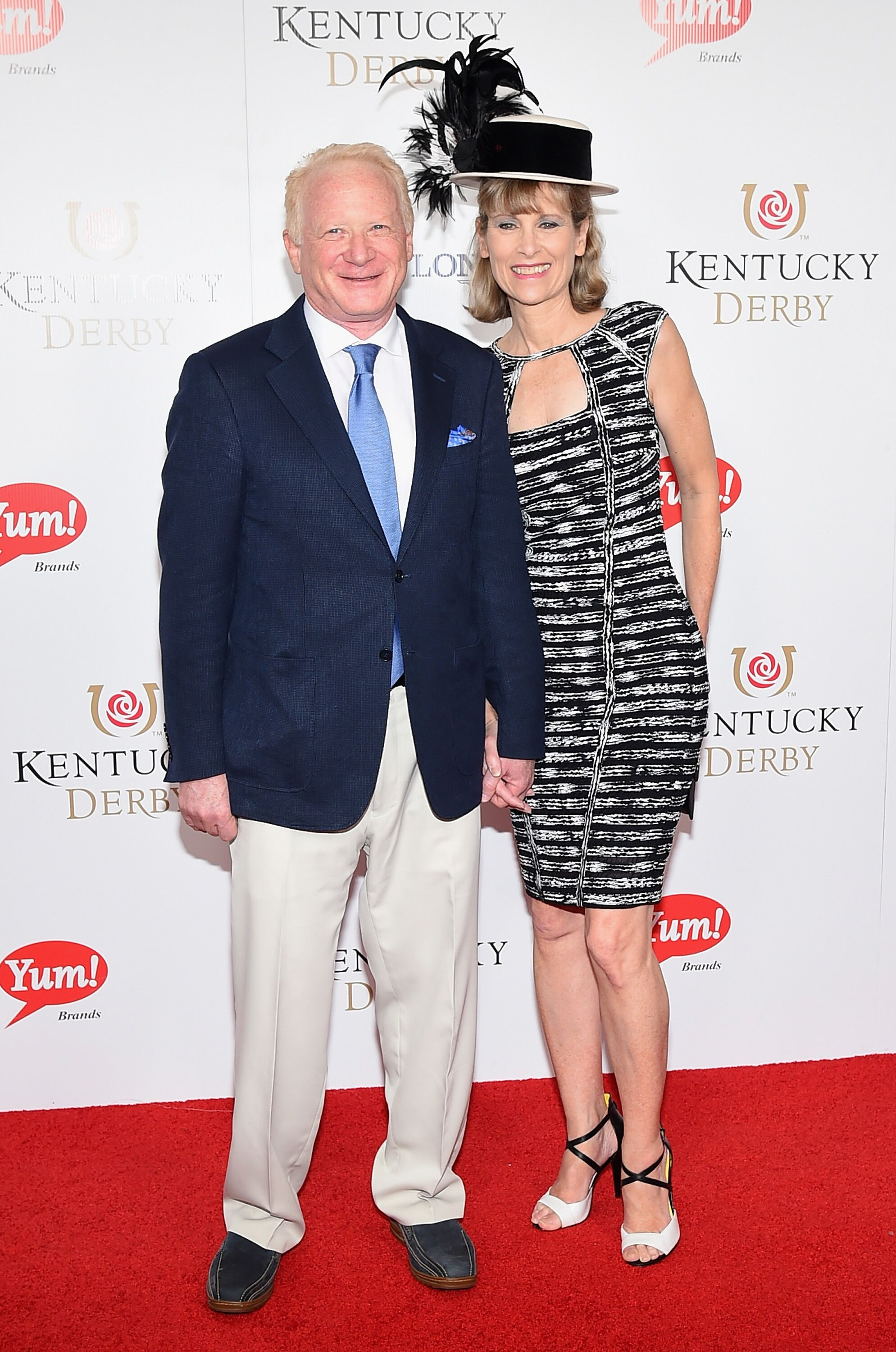 Don Most and Morgan Hart attend the 141st Kentucky Derby at Churchill Downs on May 2, 2015 in Louisville, Kentucky.   Source: Getty Images