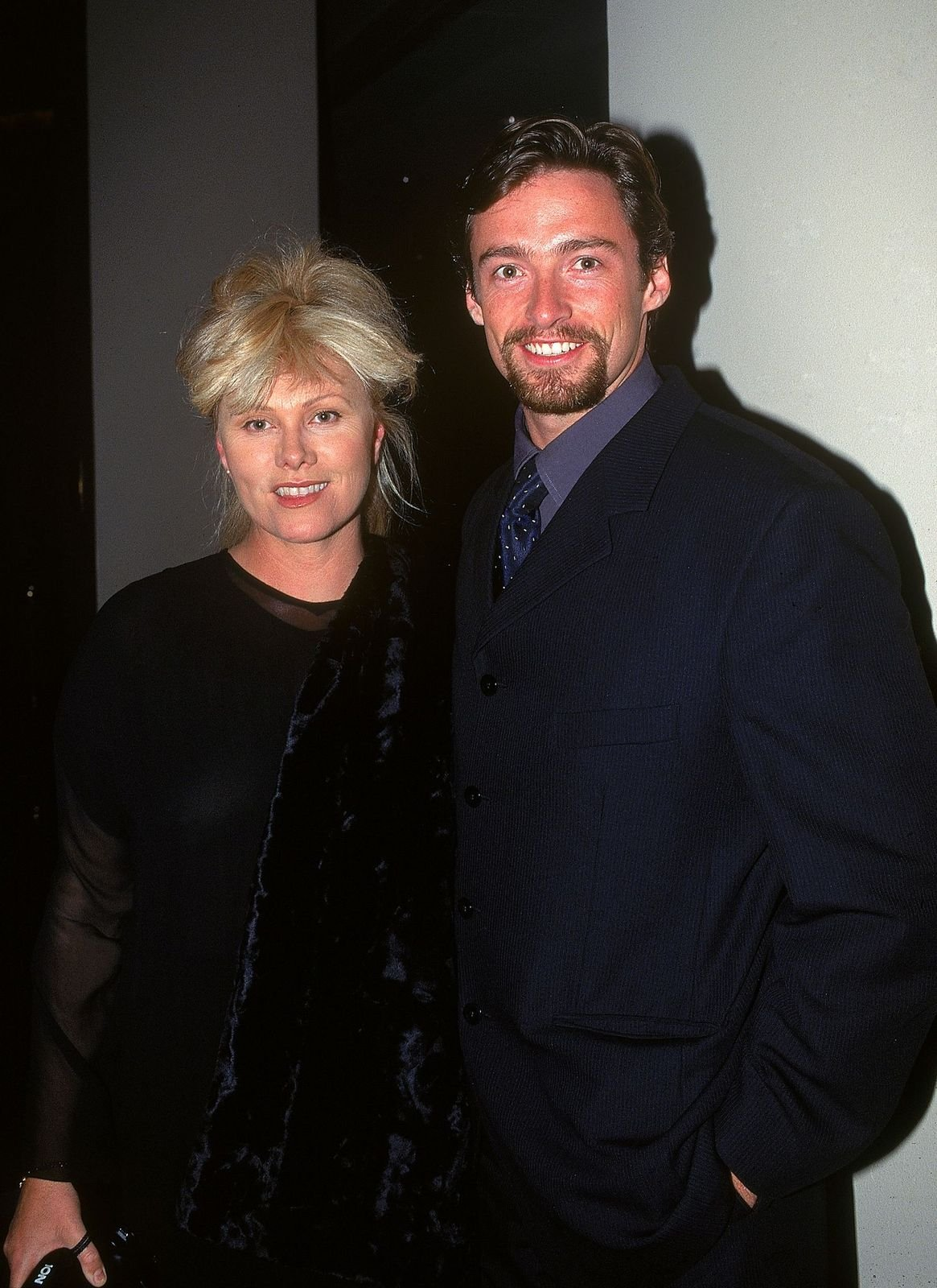 Deborra-Lee Furness and Hugh Jackmanatthe Variety Club Heart Awards on July 18, 1997, in Sydney, Australia   Photo:Patrick Riviere/Getty Images