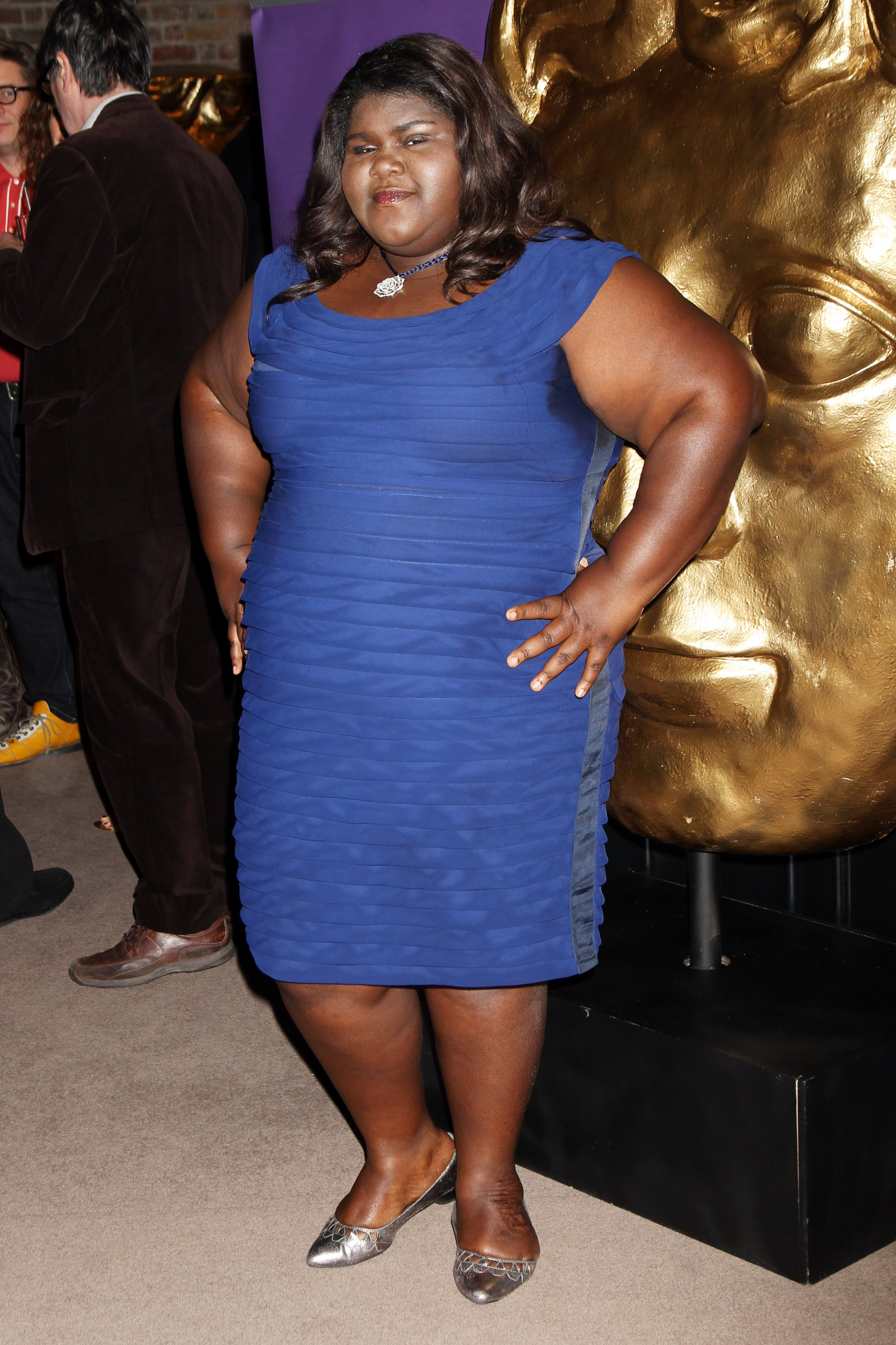 Gabrielle Sidibe attends the the Orange British Academy Film Awards nominees party held at Aspreys| Photos :Getty Images