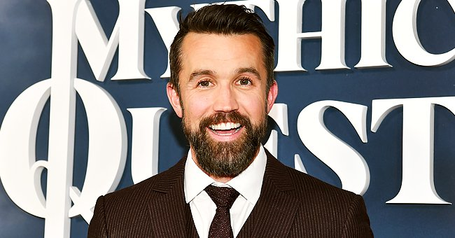 """Rob McElhenney attends the Premiere of Apple TV+'s """"Mythic Quest: Raven's Banquet"""" at The Cinerama Dome on January 29, 2020. 