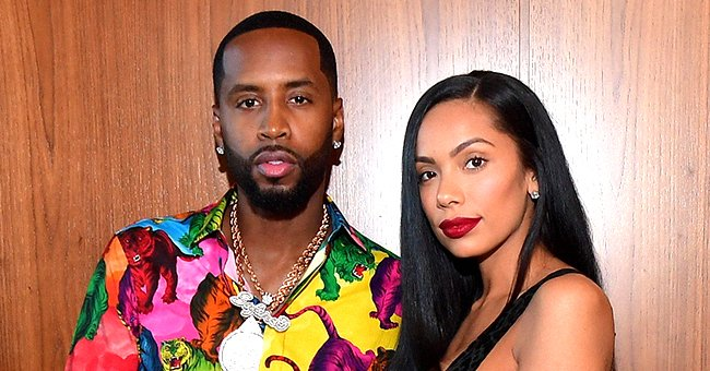 L&HH Stars Safaree & Erica Mena Welcome 2nd Child Amid Divorce Drama & the Baby's Name Is Revealed